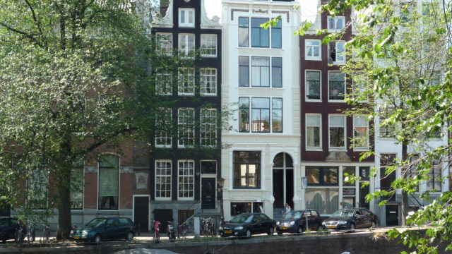 Amsterdams grachtenpand gerestaureerd